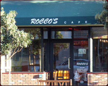 Roccos Cafe And Catering Italian Restaurant Located In South Of